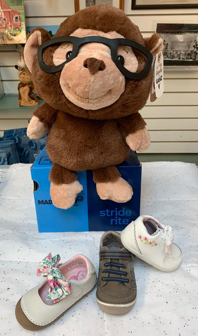 Luers - a full array of children's shoes, boots and sandals in a variety of widths from Stride Rite