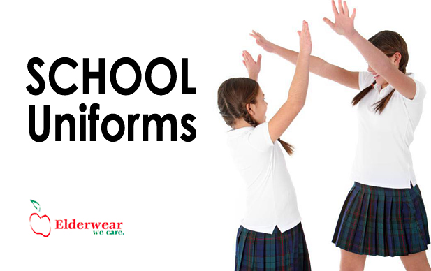 Luers Group specializes in school uniforms.  We carry a full line of uniform components and keep them in stock all year long, not just at back-to-school time.  Half-sizes, husky, juniors, mens, and slims are stocked, as well as the regular sizes.