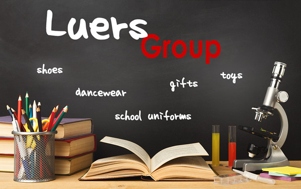 The Luers Group sells school uniforms, dancewear, StrideRite footwear, customized spiritwear, gifts and accessories for children in Springfield, IL, Central Illinois. Ror children in Springfield, IL, Central Illinois.